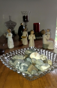 Mama's glass bowls