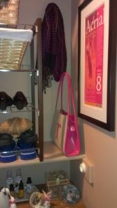 Closet 5 - pink corner